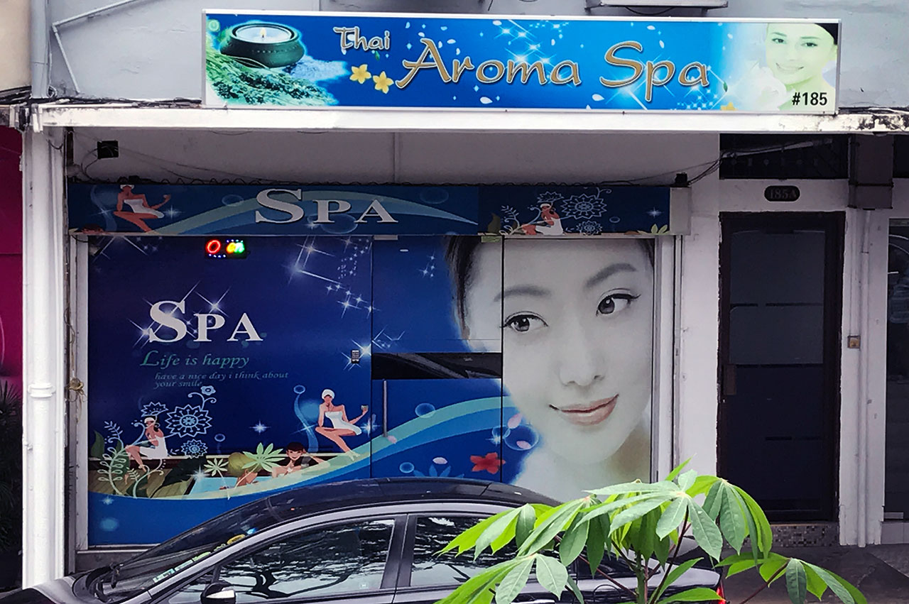 Massage Parlor With Extra Service