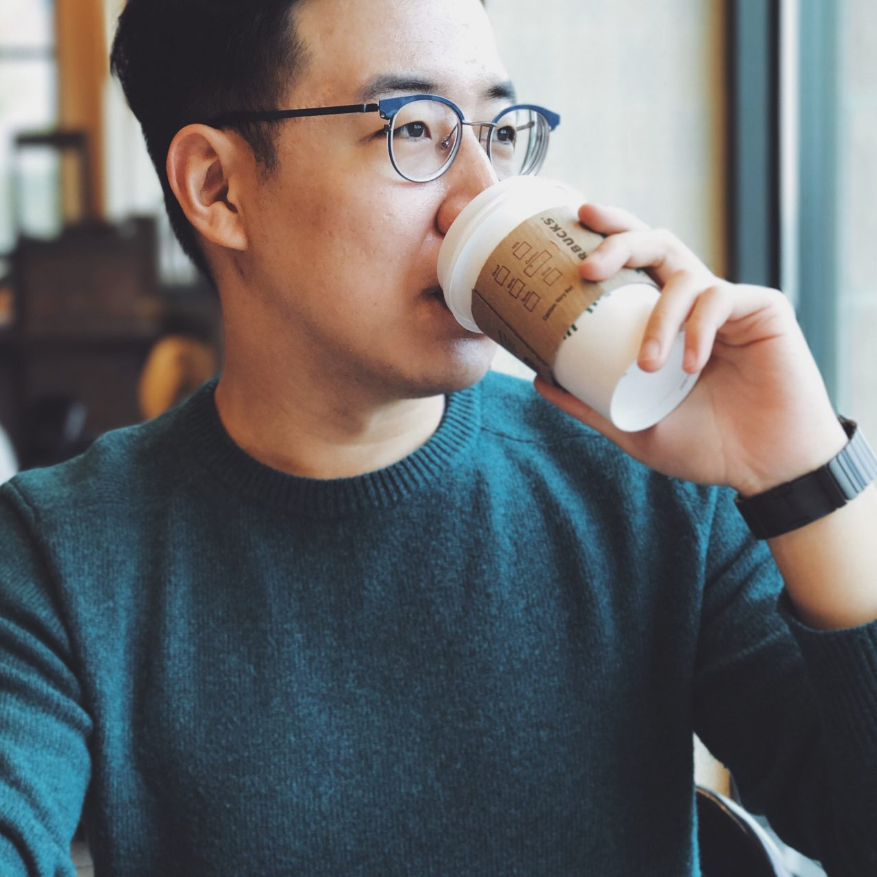 When Shao Jie's mother isn't looking, he tells the barista his name is Barnabus.